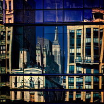 Abstract City Reflections by Chris Lord