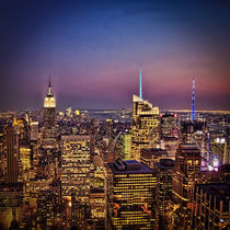New York City Skyline at Twilight von Chris Lord
