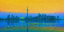 Toront  Skyline 2 von Marie Luise Strohmenger