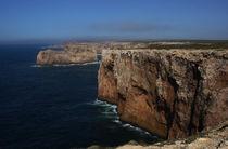 Steilküste bei Lagos in Portugal von magdeburgerin