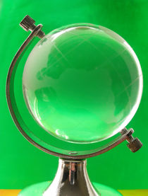 Small Glass Globe by Steve Outram