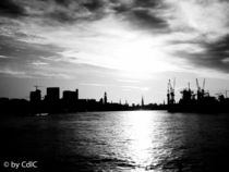 Hamburg Skyline von Sebastian Peters