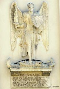 Gedenktafel am Dom, Passau von badauarts