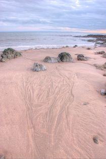 sand trails Bracelet Bay by Dan Davidson