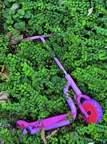 Kinderroller im Grün by ekk lory