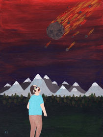Meteroite Impact by Angela Dalinger