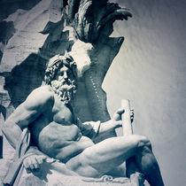 Le Gange - Fontaine des Quatre Fleuves - Rome von Mickaël PLICHARD
