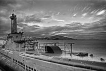 U-Boat / Alcatraz Island von J Nathaniel Dicke