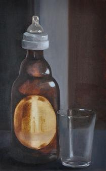 Flasche mit Schnuller von Rosel Marci
