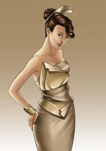 Soft Gold by kiauart