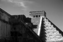 CHICHEN ITZA RUINS Mexico by John Mitchell