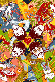 Sgt. Pepper's Lonely Hearts Club Band by Julia Minamata