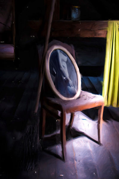 Mirror-on-chair