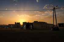 Berber Wedding Sunset von Russell Bevan Photography
