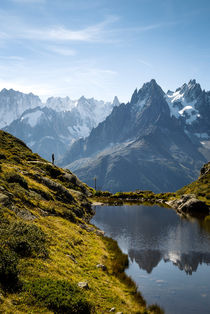 Aiguilles de Chamonix by Russell Bevan Photography