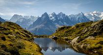 Aiguilles de Chamonix avec Mont Blanc von Russell Bevan Photography