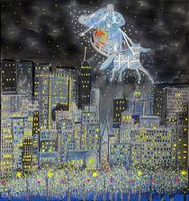 Die Winterfee zeigt Luzie das weihnachtliche New York by Heidi Schmitt-Lermann