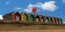 Beach Huts by David Pringle