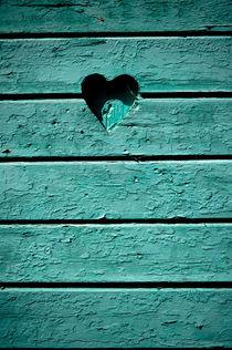 Green heart von Lars Hallstrom
