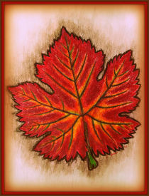Autumn Leaf by Christi Ann Kuhner