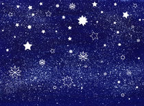 Starry Sky von Sandra Wills