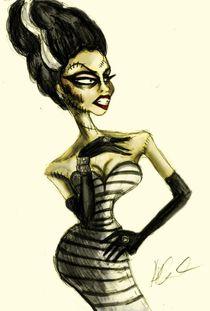 The Drag Bride of Frankenstein von Hannah Chusid