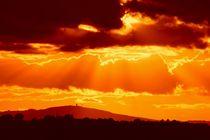 Fire sky von Ed Lukas
