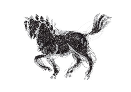 Second-horse