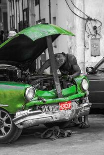 Los Vehículos Cubanos IX by Marcus A. Hubert
