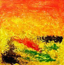 Abstrakt Sonnensturm von Sun Dream