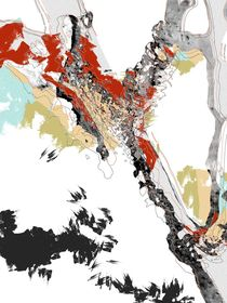 ao009 abstract color art fine modern von Rafal Kulik