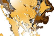 ao018 abstract color art nature modern life happy von Rafal Kulik