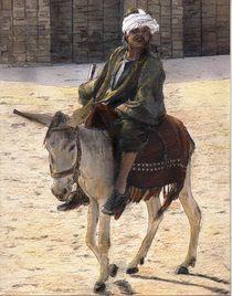 Donkey Rider in Cairo von Randy Sprout