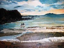 Baden im Meer by rosenlady
