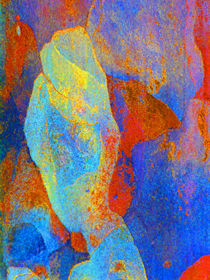 Spring Eucalypt Abstract 13 von Margaret Saheed
