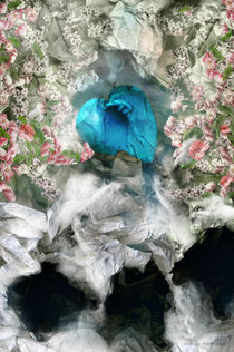 Blue heart von liudmila mikhaylova
