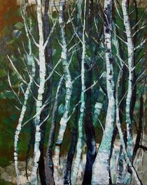 Winter Trees (Winter Bäume) von Myungja Anna Koh