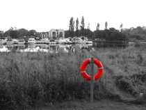 Life Ring at Lough Erne by John McCoubrey