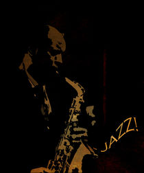 Jazz Saxophonist von David Pringle