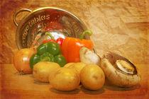 Cascading Vegetables von Sarah Couzens