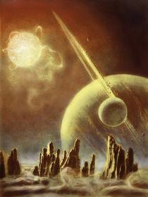 Alien planets by Tomáš Kruták