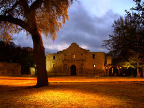 Sunrise At The Alamo by © CK Caldwell
