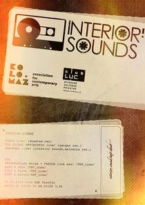 #interior_sounds poster_2012 von Marcel Velký