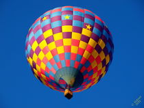 Vivid Star Balloon by Christi Ann Kuhner