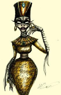 Queen Tut von Hannah Chusid
