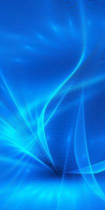 Abstrakt blau von dresdner