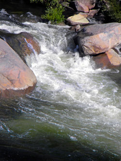 White-water-cascade
