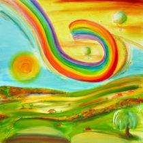 Roaming rainbow von Eszter Fézler