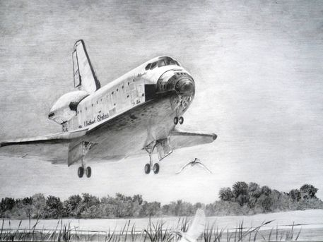 Drawings of Space Shuttle Atlantis - Pics about space