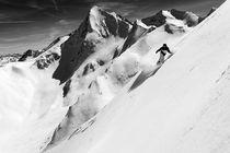 Snowboarder, Obergurgl von Ross Woodhall